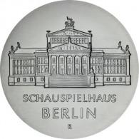 J.1616 - DDR 10 Mark 1987 - Schauspielhaus Berlin