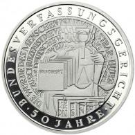 Deutschland 10 DM Silber 2001 PP Bundesverfassungsgericht Mzz. Historia Wahl