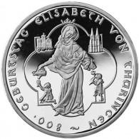 Deutschland-10-Euro-2007-PP-Elisabeth-von-Thüringen-I