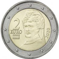 Österreich 2 Euro 2020 bfr. Berta von Suttner