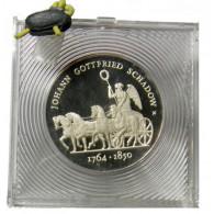 Gedenkmünzen DDR 10 Mark PP Orginal verplombt Schadow