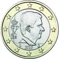 Belgien 1 Euro 2016 König Philippe