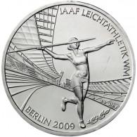 Deutschland 10 Euro 2009 PP  Leichtathletik WM Mzz. Historia Wahl