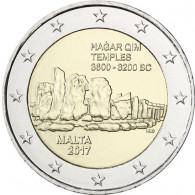 Malta 2 Euro Hagar Qim 2017
