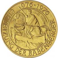 Österreich-1000-Schilling-1976-Goldmünze-Babenberger