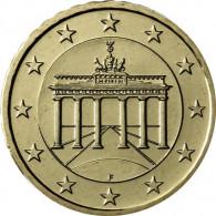 Deutschland 50 Euro-Cent 2015  Kursmünze mit Eichenzweig