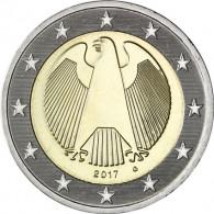 2 Euro Kursmünze Deutschland 2017