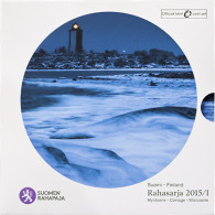 Finnland 3,88 Euro 2015 Stgl. KMS 'Leuchtturm' im Folder