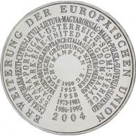 Deutschland 10 Euro - Gedenkmünzen  2004  Erweiterung der EU Silber