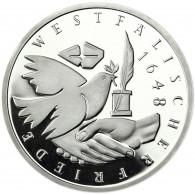Deutschland 10 DM Silber 1998 PP Westfälischen Frieden Mzz. unserer Wahl