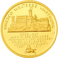 Deutschland 100 Euro 2011 stgl. UNESCO Welterbe Wartburg Mzz. A
