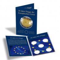 347756 - Münzkarte für alle deutschen 2 Euro 30 Jahre Europa Flagge