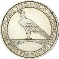 J. 345 Weimar 3 Reichsmark  1930 Rheinlandräumung Sonderpreis