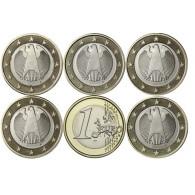 Kursmünzen Deutschland 1 Euro 2019 Münzzubehör bestellen