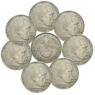 2 Reichsmark Hindenburg Drittes Reich Kursmünzen