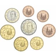 Spanien 1 Cent bis 2 Euro 2011 lose Bankfrisch