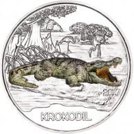 3 Euro Münzen Krokodil 2017 aus Österreich