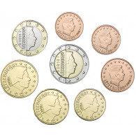 3,88 Euro Kursmuenzen Luxemburg 2018 Sammlermuenzen