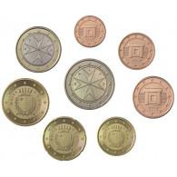Malta 3,88 Euro 2012 bfr. lose  1 Cent - 2 Euro