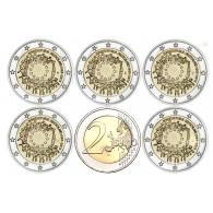 2 Euro Münzen 2015