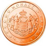 Monaco 5 Cent 2005 Polierte Platte
