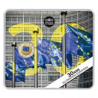 30 Jahre Europa Flagge Münzen