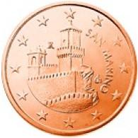 San Marino 5 Cent 2008 bfr. Festungsturm La Guaita