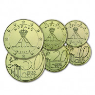 Monaco 10 Cent bis 50 Cent 2006 - 2013 Fürst Albert II