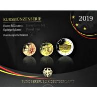 Euro Kursmünzensatz von 2019