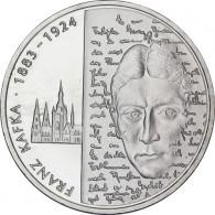 Silbereuro 10 Euro 2008 Franz Kafka