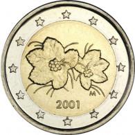 Finnland 2 Euro Kursmünze von  2001  Moltebeere