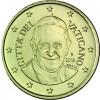 Papst  Franziskus Vatikan 10 Cent 2016 bfr.