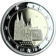 Deutschland 2 Euro Sammlermünzen  2011 Kölner Dom PP  Mzz. nach HISTORIA-Wahl