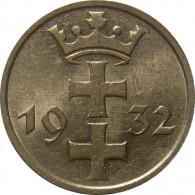 D 15 -  Danzig 1 Gulden 1932  Wappen