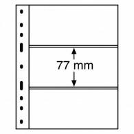 317839 -  Optima 3 C Hüllen  für Banknoten 3er Einteilung