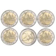 2 Euro Gedenkmünzen Bundesländer Serie Bremen Roland Mzz. A - J