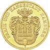 J. 207 - Hamburg  10 Mark 1874 Gold  Freie Hansestadt-Stadtwappen