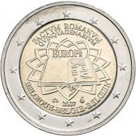 Belgien 2 Euro 2007 bfr. 50 Jahre Römische Verträge
