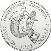 Kanada 1 Dollar 1983   Silber        Universiade
