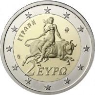 Griechenland 2 Euro 2009 bfr. Europa auf dem Stier