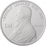 Malta 5 LM 2002 PP Komponist Nicoló Isouard