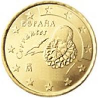 Spanien 10 Cent 2001 bfr. Miguel de Cervantes
