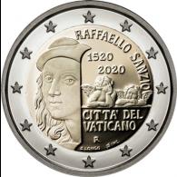 Vatikan-2-Euro-2020-Raffaello-Sanzio--shopI