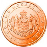 Monaco 5 Cent 2001 bfr.