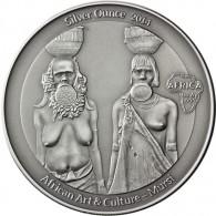 3 Oz Silber Mursi - Congo Mursi Silver Ounce 2014