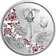 Österreich-10-Euro-Silber--Gedenkmünze-2021-Rose-PP-II