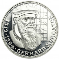 Deutschland 5 DM Silber 1969 PP Gerhard Mercator in Münzkapsel