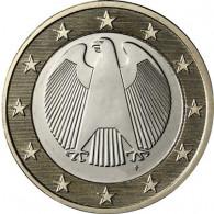 Deutschland 1 Euro- 2016  Kursmünze Adler