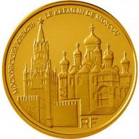 Frankreich 50 Euro 2009 Gold Kreml in Moskau