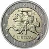 Litauen-2-Euro-2021-bfr-Weißer-Reiter